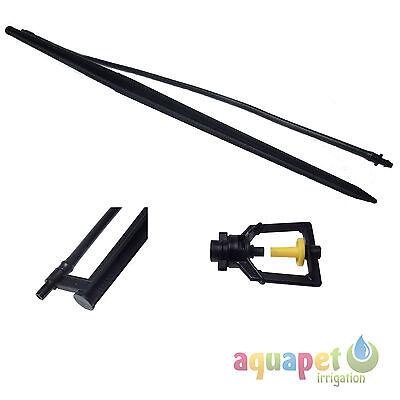 50cm MicroJet Sprinkler Support Stake Set 8mm pipe optional MicroJet Sprayer