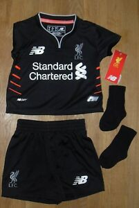 1b9d3d5c6a0 New Balance Liverpool FC 2016 17 Away Kit Infant 12 - 18 Months ...