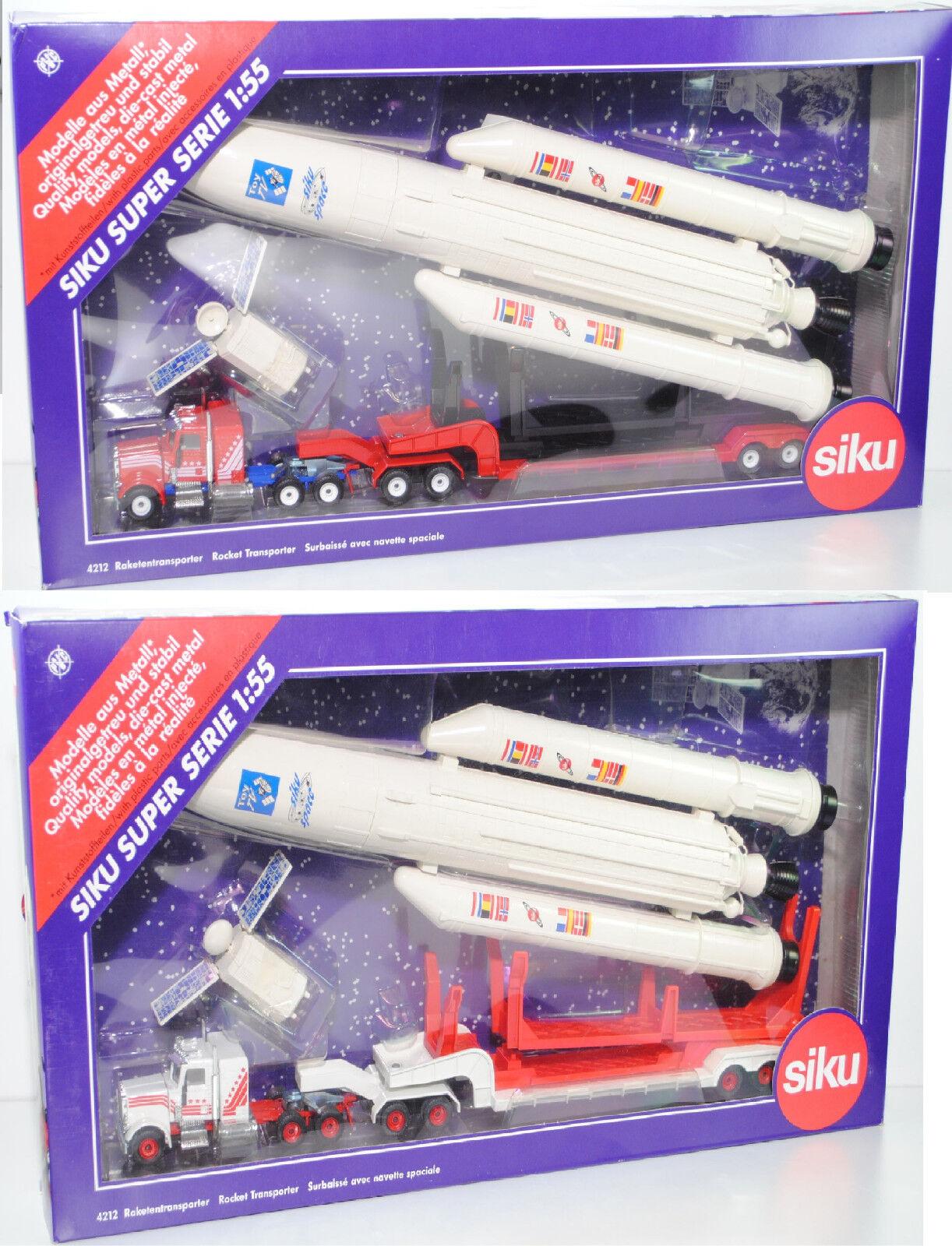 SIKU SUPER 4212 PETERBILT 359-127 Conventional missiles transporteur, SIKU Space