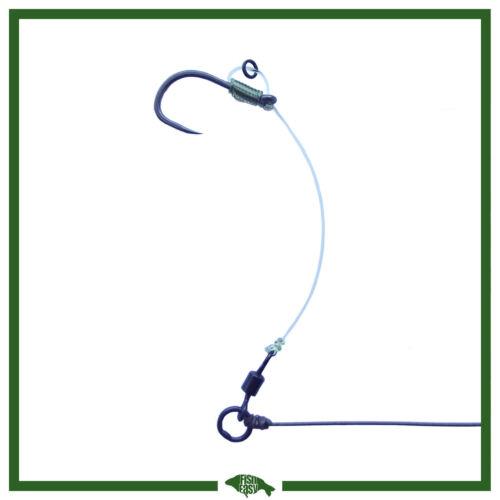 KORDA Hooks and Line High Quality Hinged Stiff Rig Custom Made