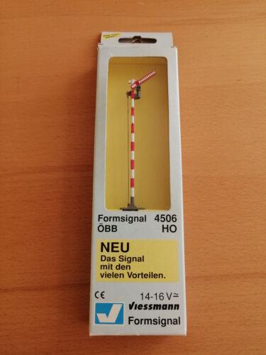 Viessmann 4506; Form-Hauptsignal ÖBB Epoche 1 NEU /& OVP H0 Hp0//Hp1