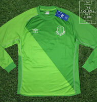 Everton Goalkeeper Shirt - Official Umbro Efc Gk Jersey - All Sizes