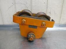 Budgit 3 Ton Manual Overhead Electric Chain Hoist I Beam Trolley 6000 Lbs
