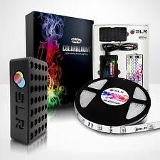 LCD/LED/PLASMA TV BACKLIGHT HOME THEATER - 16ft RGB Glow Strip Kit+Remote