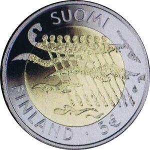 FINLANDIA-5-EURO-2007-BIMETAL-90-ANIVERSARIO-INDEPENDENCIA