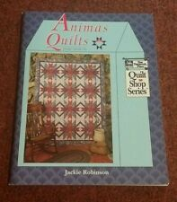 ANIMAS QUILTS Book - QUILT SHOP SERIES - Jackie Robinson