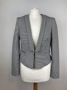 PRINCIPLES-Ben-de-Lisi-Elegant-Stripe-Tailored-Fitted-Blazer-Jacket-UK-12-Petite