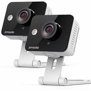 Zmodo-2-Pack-WiFi-Wireless-HD-Indoor-Security-Camera-Night-Vision-Two-Way-Audio