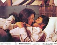 THE UNDEFEATED Original WESTERN Lobby Card 3 ROCK HUDSON LEE MERIWETHER