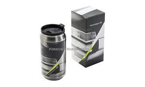 Porsche Thermal Insulating Cup #PORSCHE Coffee Tea Travel Mug Stainless Steel