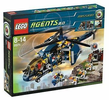 NEW NEW NEW Lego Agents 8971 Aerial Defence Unit New SEALED 23b6f1