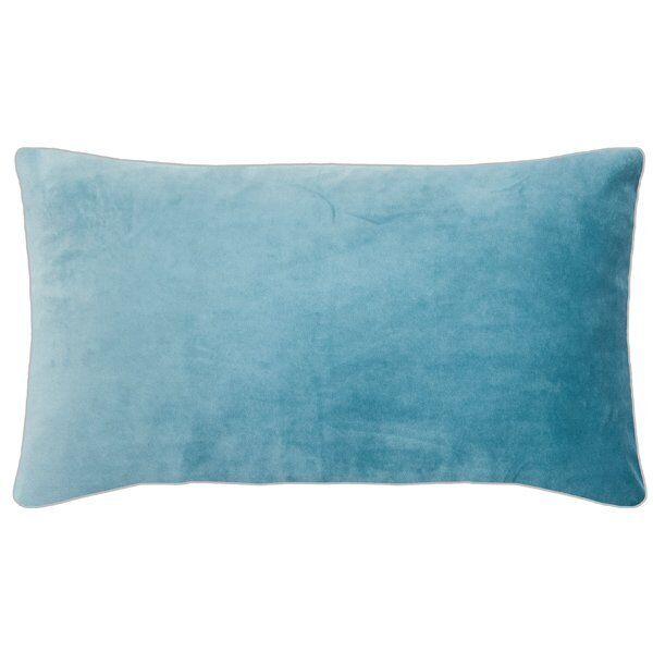 Cuscino Pad Pad Pad GUSCIO VELLUTO ELEGANCE Aqua Blu (35x60cm) dbe7d8