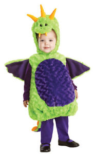 Dragon Hood Infant Costume Plush Swirl Fur Body Halloween ...