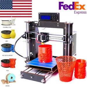 3D-Printer-Prusa-i3-Reprap-MK8-Extruder-MK3-Heatboard-LCD-Controller-PLA
