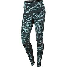 Nike Power Epic Lux Women's Printed Tights 'Seaweed Green' (M) 812040 364