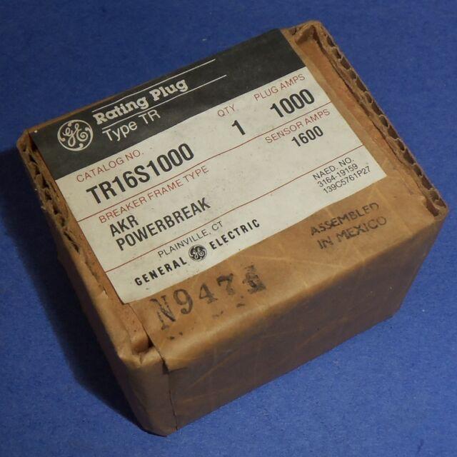 TR8B400-400A GE RATING PLUG 800A CT SKU005985