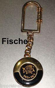 Büro & Schreibwaren Geschenk- & Werbeartikel SchlÜsselanhÄnger Sternzeichen Fische Fisch Metall Star Sign Pisces Key Ring Neu