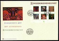 UN / Vienna office - 2003 Indigenous art - Mi. Bl. 17 clean FDC