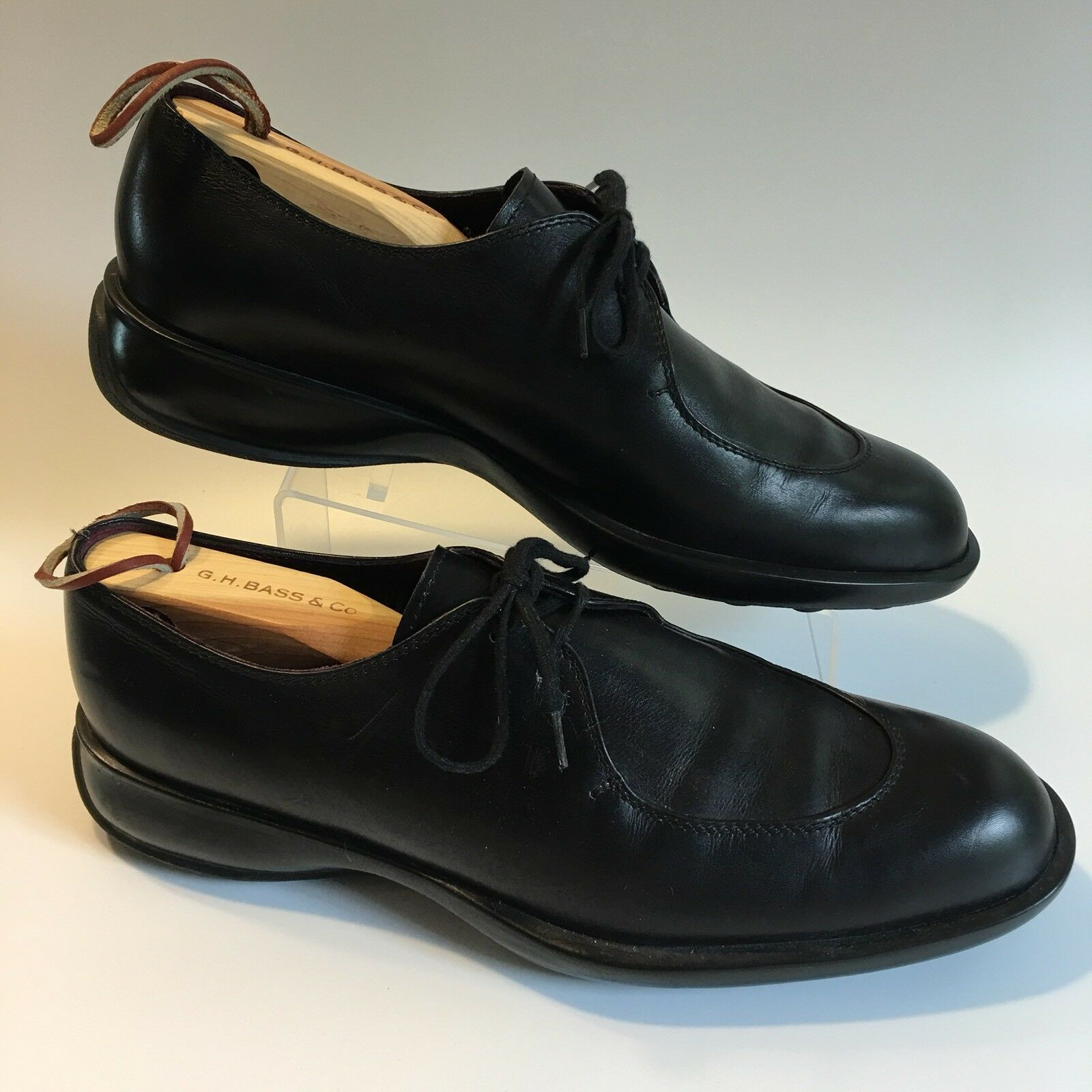 TOD'S Men's Black Leather Lace Up Oxfords shoes Size 40 (US 7)