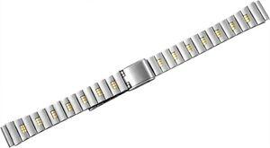 Edelstahl-Ersatzarmband-Uhrenband-Silber-Gold-10-mm-Ersatzband-X-823020002010