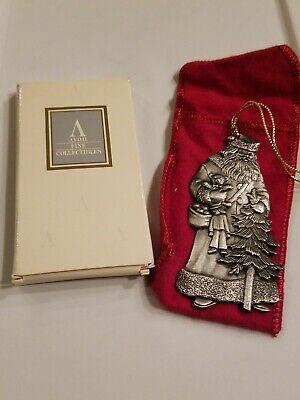 Avon Pewter Christmas Ornament 1993 No Box