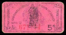 Gobierno Constitucionalista de Mexico 5 cents. Pasteboard, M1247b / MI-DF-67 F