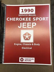 jeep xj factory service manual