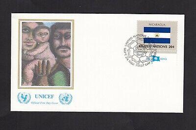 2019 Mode Erstatgsbrief , Vereinte Nationen New York , Vom 24. Sept. 1982 - Nicaragua - Attraktives Aussehen