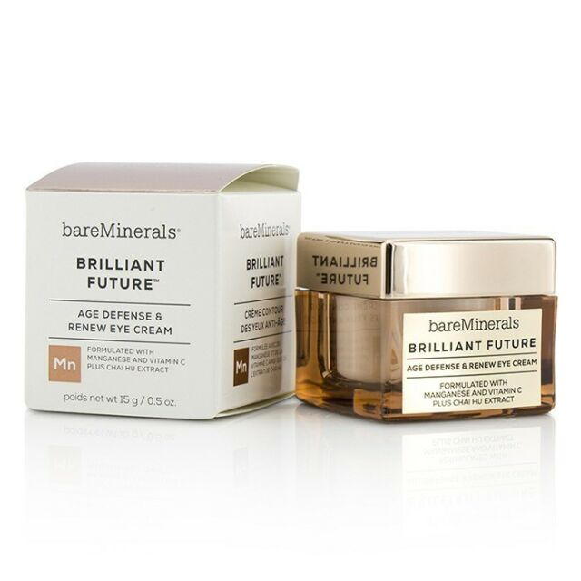 BareMinerals Brilliant Future Age Defense & Renew Eye Cream 15ml Eye & Lip Care