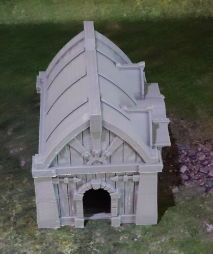 Fantasy village smiths house Gatehouse Gaming Model /& War Gaming Terrain D/&D