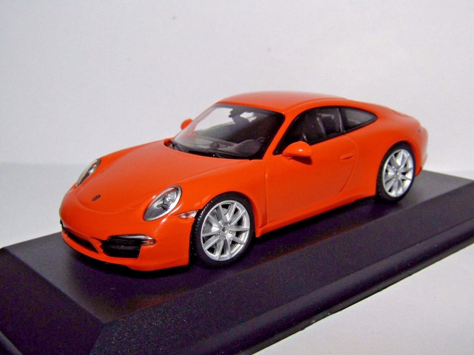 Maxichamps PORSCHE 911 Carrera S 2012 Arancione