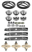 Murray 46 Mower Deck Rebuild Kit Spindles Blades 037x96ma Belt Free Shipping