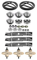 Murray 46 Mower Deck Rebuild Kit Spindles Blades 037x89ma Belt Free Shipping