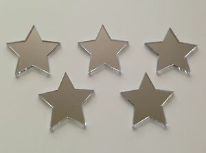 3 FOR 2 Decorative Star Mirrors 100/150mm great for bedroom or nursery
