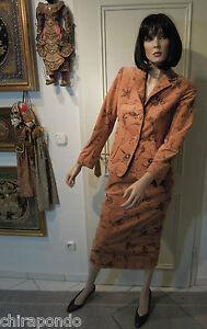 Finest Costume Gr 34 Embroidery Cord Camel Part Edles Black Glittering Cinnamon 00pr6qw