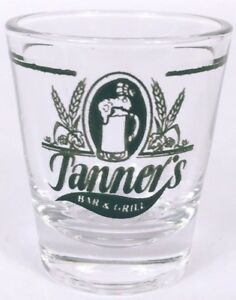 Tanners-Bar-amp-Grill-2-25-034-Collectible-Shot-Glass