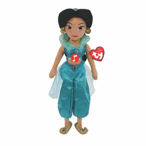 Disney Principessa Gelsomino Ty Beanie Medio Peluche con Suono