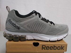 ab94d98913687f REEBOK Men s Jet Dashride Grey Black White Running Shoes Size 10 ...