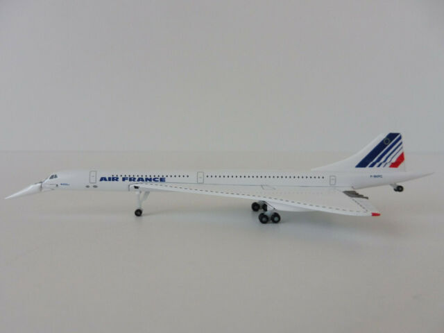 CONCORDE AIR FRANCE 1/500 Herpa 532839 Aerospatiale BAC F-BVFC NOSE DOWN