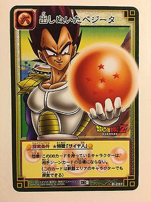 100% Waar Dragon Ball Z Card Game Rare Part 2 - D-207
