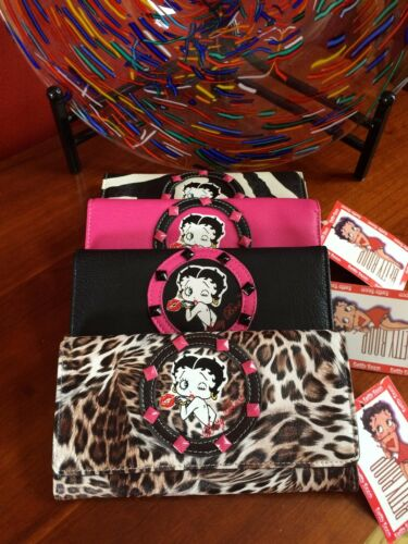 wallet \ checkbook holder 4 great designs classic betty boop POCKET BOOK