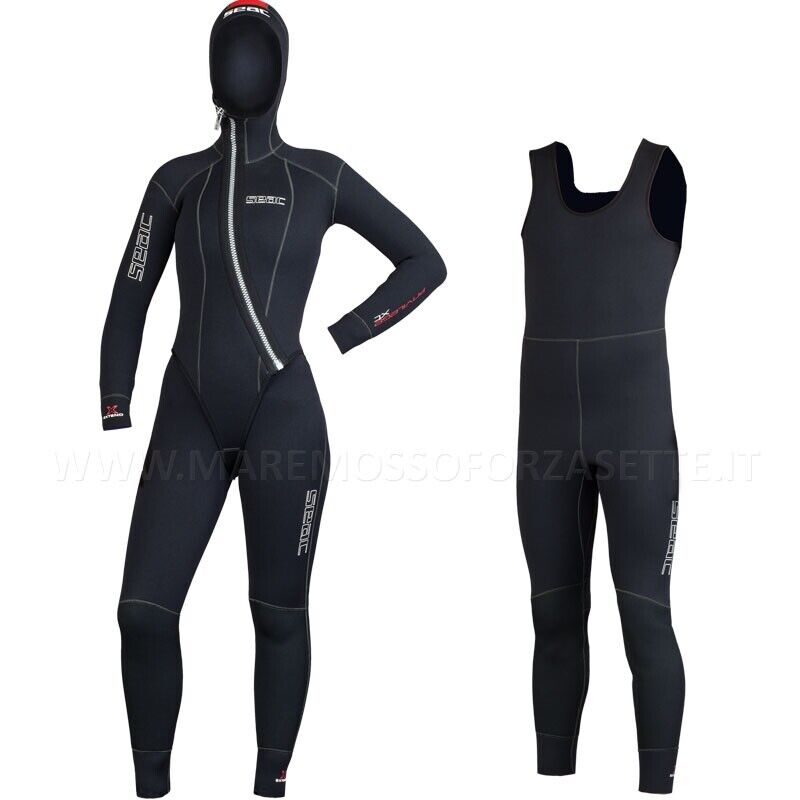 WETSUIT DIVING 5mm SEAC SUB PRIVILEGE SIZE 1 - XS WOMEN'S DIVE LADY NEOPRENE
