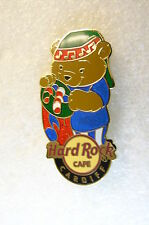 CARDIFF,Hard Rock Cafe Pin,HOLIDAY BEAR EUROPE LE 75