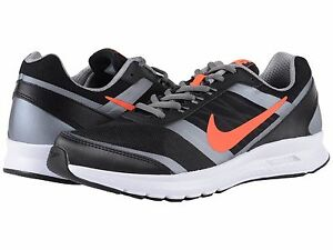11b79827361 Men s Nike Sneakers Air Relentless 5 Black Crimson Grey Men s Size ...