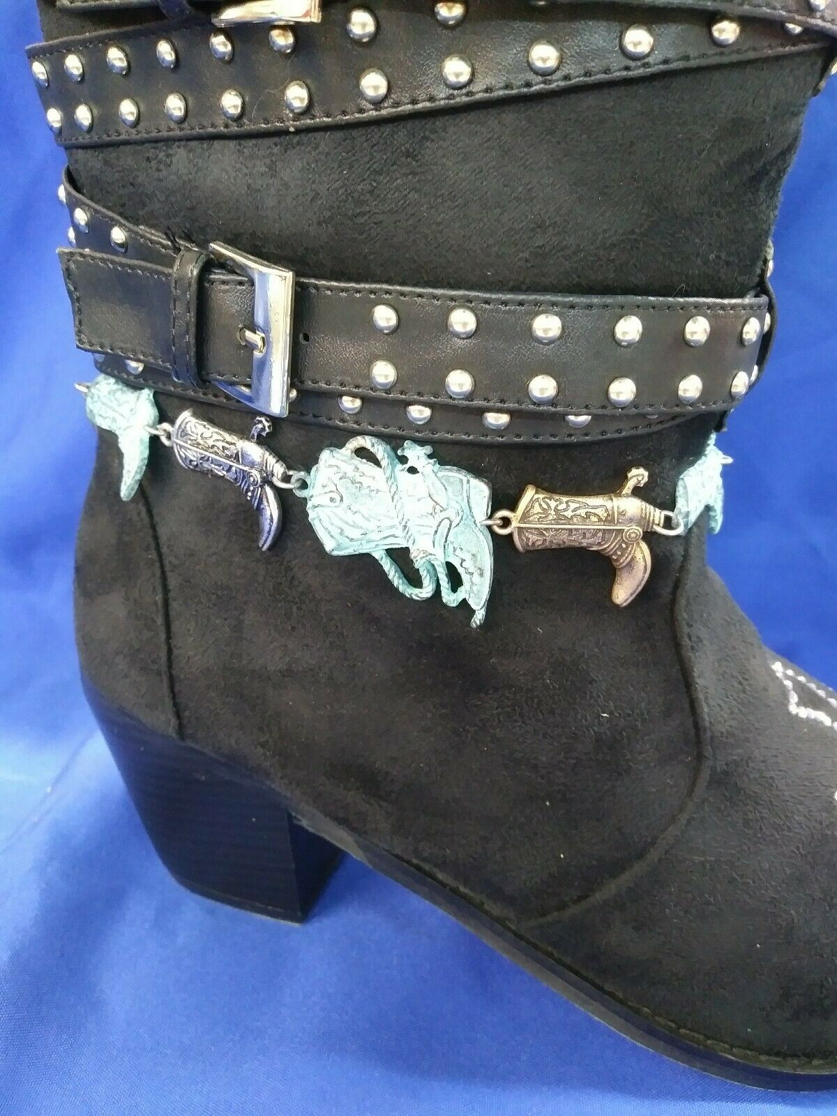 WESTERN BOOT JEWELRY -- MULTI COLORED BOOTS!!