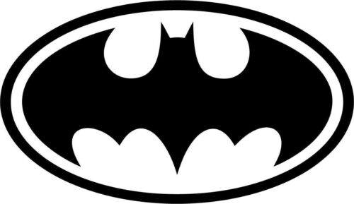 Batman Emblem Vinyl Car Window Laptop Decal Sticker