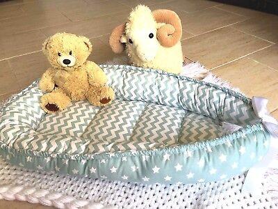 Nest Baby Babynest Sleeper Mint Co Pod Newborn Snuggle Cocoon Crib Bed New Sleep