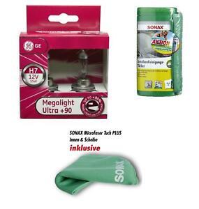 H7-12v-Megalight-Ultra-90-in-piu-di-luce-2st-GE-SONAX-vetri-SALVIETTE-04120410