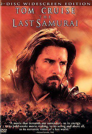 The Last Samurai DVD, 2004, 2-Disc Set, Widescreen Edition  - $0.99