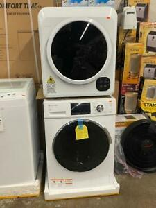 NATIONAL 24inch Stackable Front Load Washer & Dryer Set. Brand New With Warranty. Super Sale $1199.00 No Tax Toronto (GTA) Preview